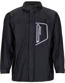 Tourmaster Defender Two Piece Rainsuit Black