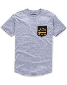 Alpinestars Heart Premium T-shirt Grey Heather