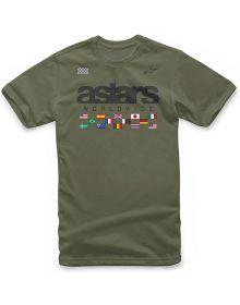 Alpinestars Nations T-shirt Green