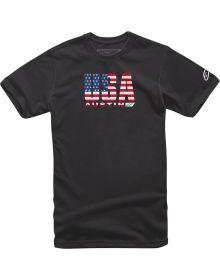 Alpinestars Circuits USA T-shirt Black
