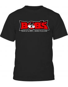 Bobs Cycle Supply 2019 Happy Logo T-Shirt Black
