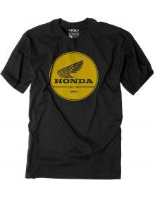 Factory Effex Honda Gold Label T-Shirt Black