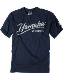 Factory Effex Yamaha Script T-Shirt Navy