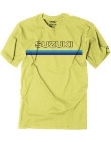 Factory Effex Suzuki Throwback T-Shirt Yellow