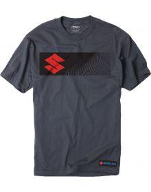 Factory Effex Suzuki Sbar T-shirt Charcoal