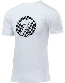 Seven Dot T-Shirt White/Checkmate
