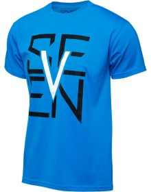 Seven Escutcheon T-Shirt Turquoise