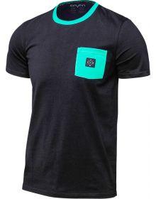 Seven Fractal T-Shirt Black