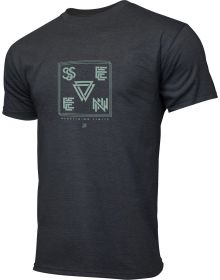 Seven Vector T-shirt Charcoal Heather