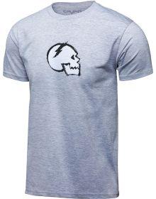 Seven Slay Skull T-Shirt Heather Gray