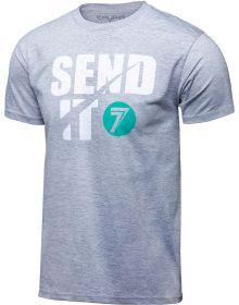 Seven Send It T-Shirt Heather Gray