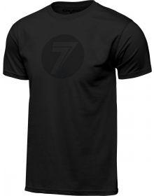 Seven Dot T-Shirt Black