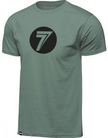 Seven Dot T-shirt Olive