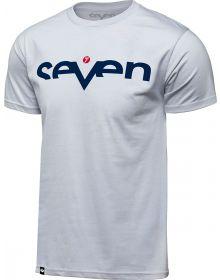 Seven Brand T-shirt White/Navy