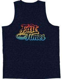 FMF Fast Times Tank Navy Heather