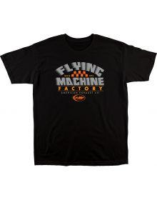 FMF Flux T-Shirt Black