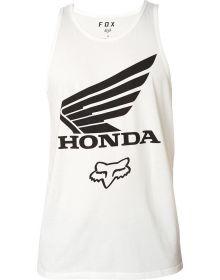 Fox Racing Honda Premium Tank Optic White
