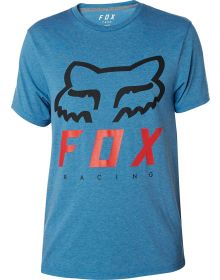 Fox Racing Heritage Forger Tech T-Shirt Heather Blue
