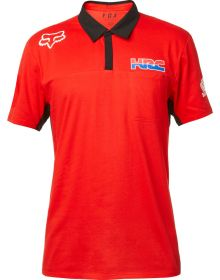 Fox Racing Honda Redplate Airline Polo Shirt Red