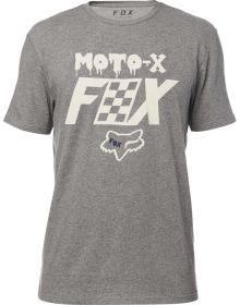 Fox Racing Czar Airline T-Shirt Heather Dark Grey