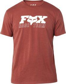 Fox Racing Race Team Premium T-Shirt Bordeaux