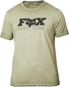 Fox Racing Race Team Premium T-Shirt Olive Green
