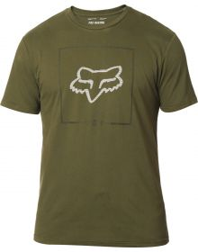 Fox Racing Chapped Airline T-Shirt Olive Green