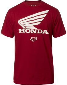Fox Racing Honda T-Shirt Cardinal