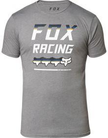 Fox Racing Full Count Premium T-Shirt Heather Graphite