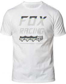 Fox Racing Full Count Premium T-Shirt Optic White