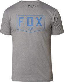 Fox Racing Shield Premium T-Shirt Heather Graphite