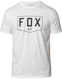 Fox Racing Shield Premium T-Shirt Optic White