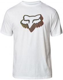 Fox Racing Warp Speed T-Shirt Optic White