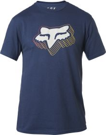 Fox Racing Warp Speed T-Shirt Light Indigo