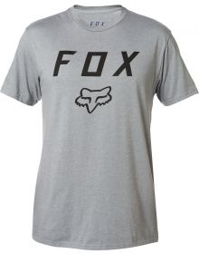 Fox Racing Legacy Moth T-Shirt Heather Graphite
