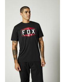 Fox Racing Emblem Tech T-shirt Black