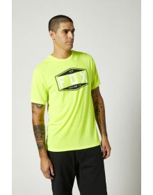 Fox Racing Emblem Tech T-shirt Flo Yellow