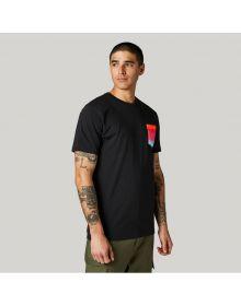 Fox Racing Pyre Ss Pocket Premium T-shirt Black Black