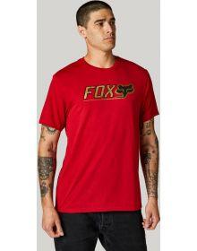 Fox Racing Cntro Tech T-shirt Chili
