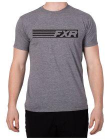 FXR Speed T-Shirt Grey Heather/Black