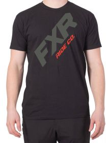 FXR CX T-Shirt Black/Red