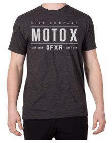 FXR Moto-X T-Shirt Charcoal Heather/Grey