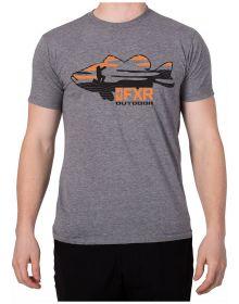 FXR Excursion T-Shirt Grey Heather/Orange