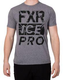 FXR Fractured T-Shirt Grey Heather/Black