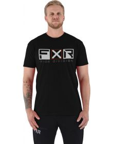 FXR Victory Tech T-Shirt Black/Grey