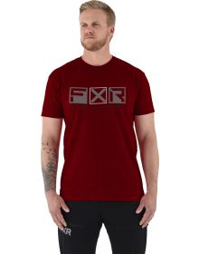 FXR Victory Tech T-Shirt Heather Rust/Grey