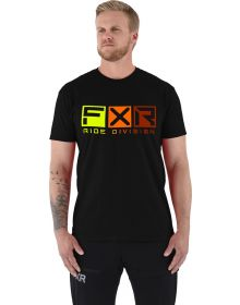 FXR Helium T-Shirt Black/Inferno