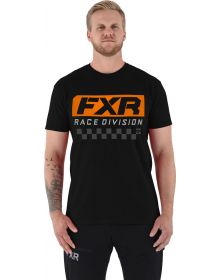 FXR Race Division T-Shirt Black/Orange