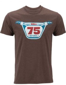 Bell Racer 75 T-Shirt Heather Brown