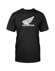 Honda Big Wing T-Shirt Black